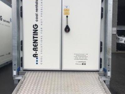Vriescel Huren 10m³ dubbele deur